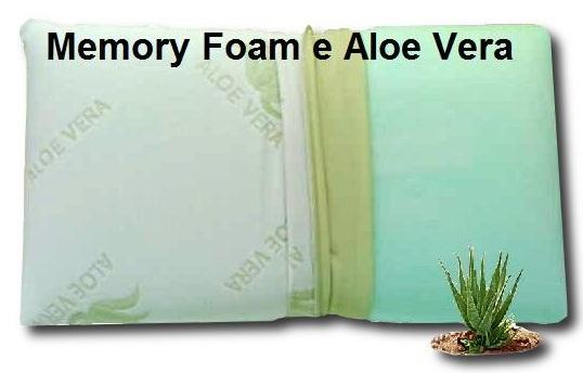 Guanciale Memory Aloe Vera.Guanciale Memory Aloe Vera Centro Materassi Di Roberto Fornaro